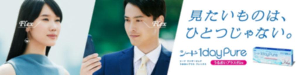 ワンデーピュアうるおいプラス フレックス シード 眼精疲労 蒲田.jpg