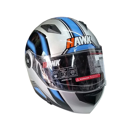 Casco HAWK rebatible