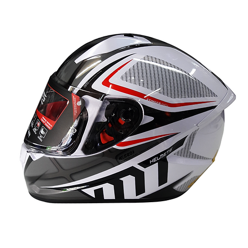 Casco MT ACERO Integral - Blanco