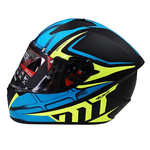 Casco MT ACERO Integral - Azul