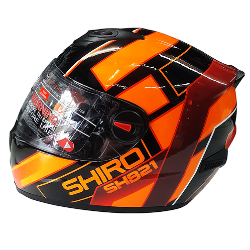 Casco SHIRO Naranja SH-821