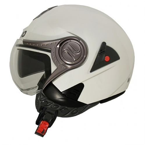 Casco Shiro SH-80 Naked c/lentes Blanco