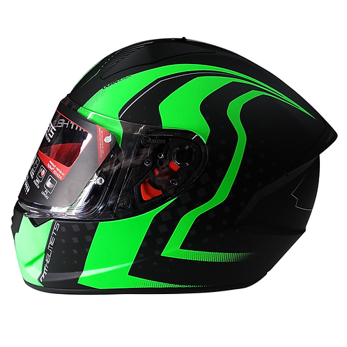 Casco MT WARHEAD Integral - Verde