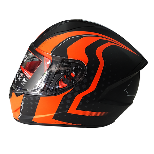 Casco MT WARHEAD Integral - Naranja