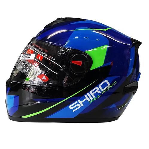 Casco SHIRO Azul SH-821