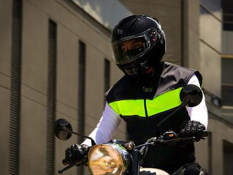 """Airbag para motos en Uruguay: """"Va a cambiar la historia de la seguridad vial"""""""