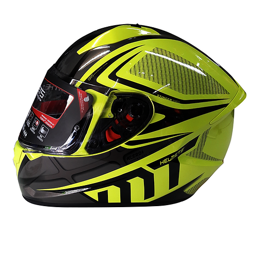 Casco MT ACERO Integral - Amarillo
