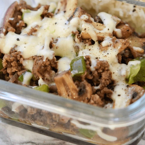 Philly Cheesesteak Bowl