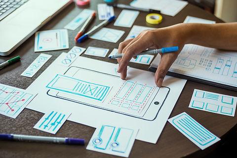 ux designer creative Graphic planning ap