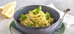 Spaghetti colatura alici e zucchine