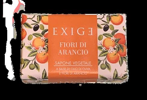 Sapone vegetale ai fiori d'arancio da  150 g.