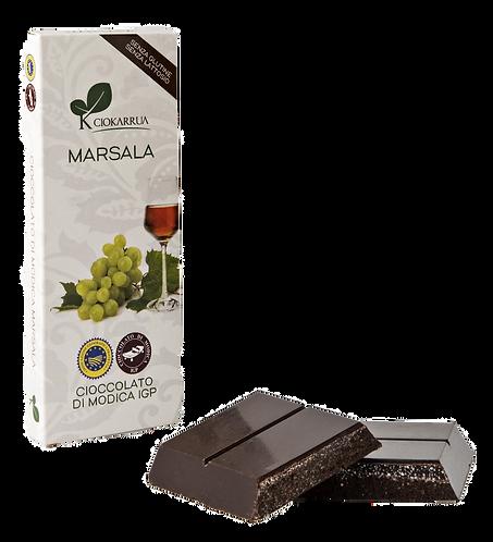 Cioccolato Extra Fondente di Modica I.G.P. al marsala