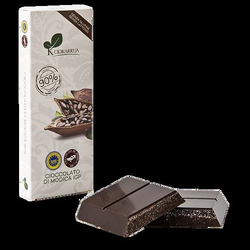 Cioccolato Extra Fondente di Modica I.G.P. 90%