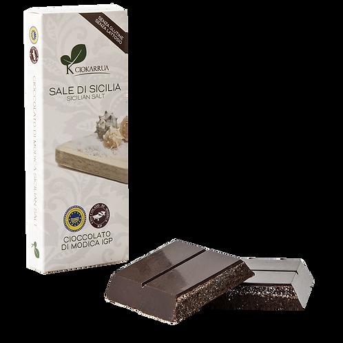Cioccolato Extra Fondente di Modica I.G.P. al sale