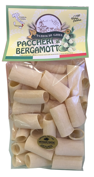 Paccheri al Bergamotto 500 gr.