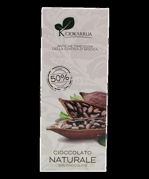 Cioccolato Extra Fondente di Modica I.G.P. 50 %