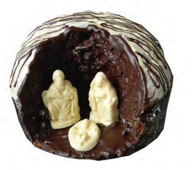 """Panettone artigianale al Cioccolato """"Natività"""" 1 Kg"""