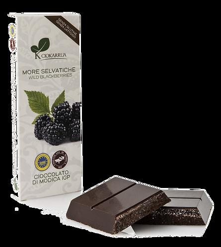 Cioccolato Extra Fondente di Modica I.G.P. alle more