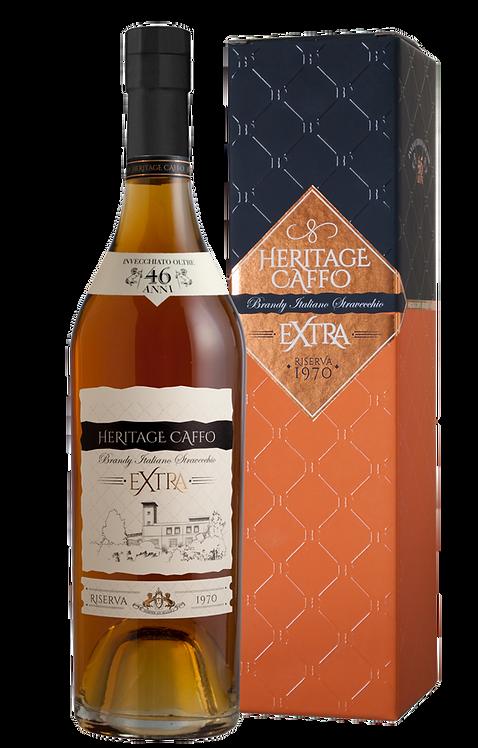 Heritage Caffo - brandy extra - riserva 1970