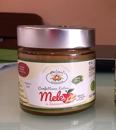 Confettura Extra di Mele e Zenzero - 82% di frutta