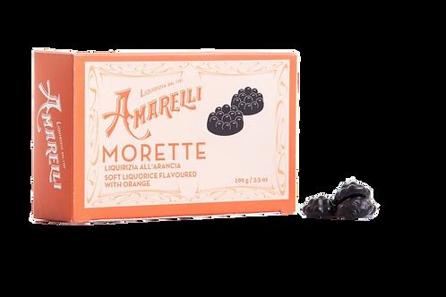 Morette - Liquirizia morbida all'arancia 100 gr.