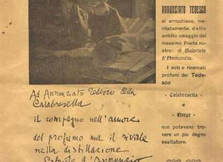 Acqua di colonia Calabresella - Comm. Annunziato Tedesco - dal 1910