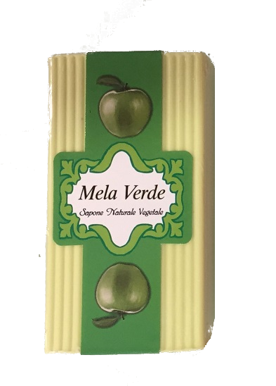 Sapone naturale alla mela verde