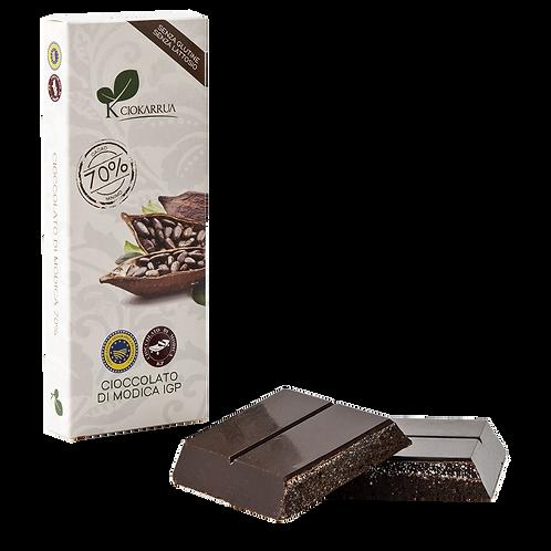 Cioccolato Extra Fondente di Modica I.G.P. 70 %