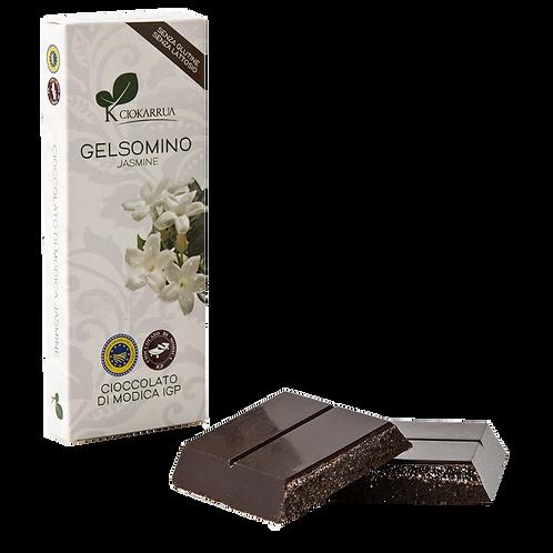 Cioccolato Extra Fondente di Modica I.G.P. al gelsomino