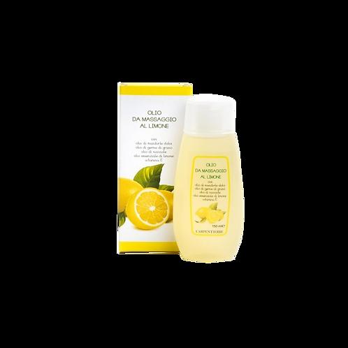 Olio da massaggio al Limone 150 ml.
