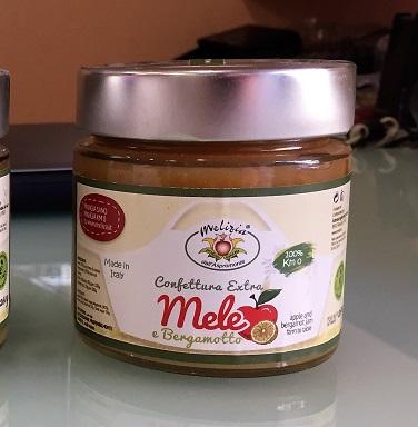 Confettura Extra di Mele e Bergamotto - 82% di frutta