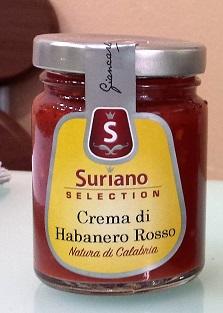 Crema di Peperoncini Habanero Rosso