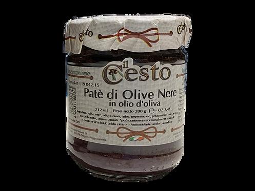 Patè di olive nere 200 gr.