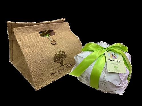 Pandolì, panettone artigianale all'olio e.v.o. con olive candite