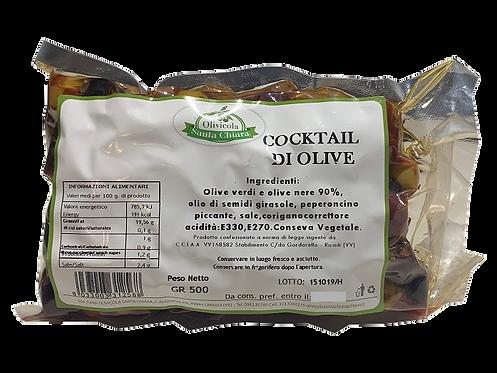 Cocktail di olive - 500 gr.
