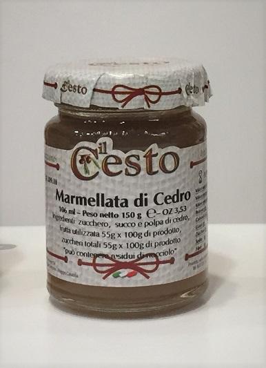 Marmellata di Cedro 106 ml.