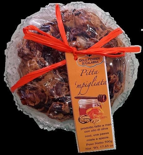 Pitta 'mpigliata - dolce tradizionale