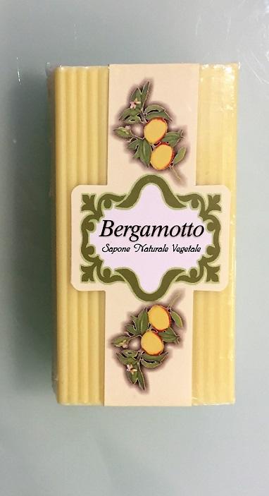 Sapone naturale al bergamotto