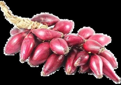 Treccia di Cipolla Rossa di Tropea - Calabria I.g.p. (1,5 kg circa)