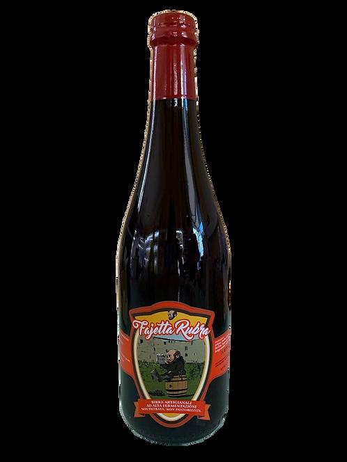 Birra artigianale rossa Fajetta Rubra 75 cl.