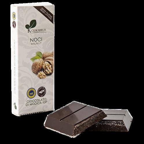 Cioccolato Extra Fondente di Modica I.G.P. alle noci