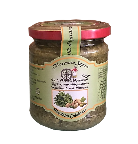 Pesto di rucola e pistacchi
