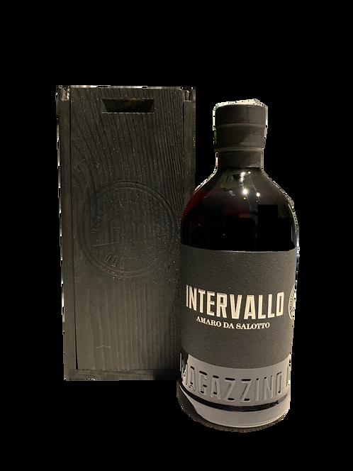 Amaro Intervallo con cassetta di legno