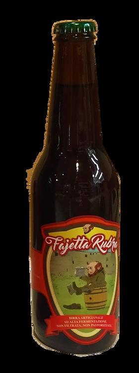 Birra artigianale rossa Fajetta Rubra 33 cl.