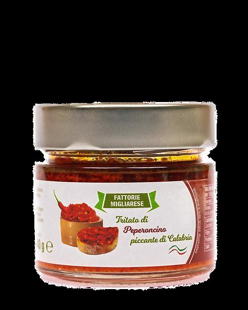 Tritato di peperoncino piccante di Calabria