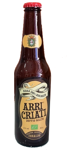 Arricriati - birra biologica 100% -doppio malto