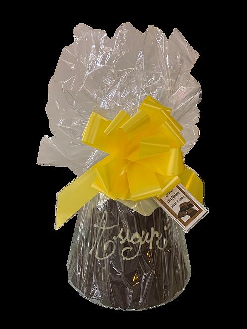 Campana di cioccolato extra fondente