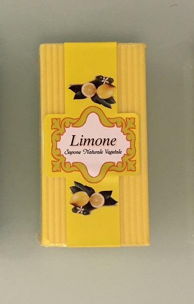 Sapone naturale al limone