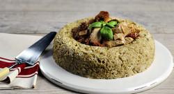 Corona di riso gange al tonno e pomodori secchi