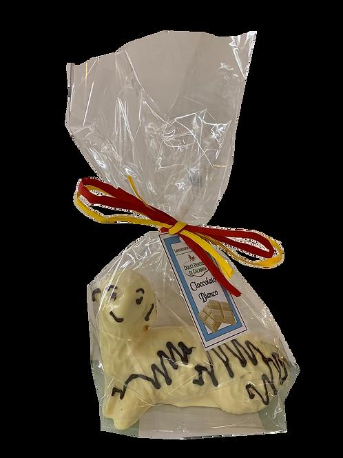 Agnello Pasquale di cioccolato bianco